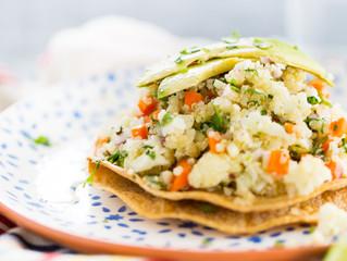 Receta: Ceviche vegano de coliflor y quinoa