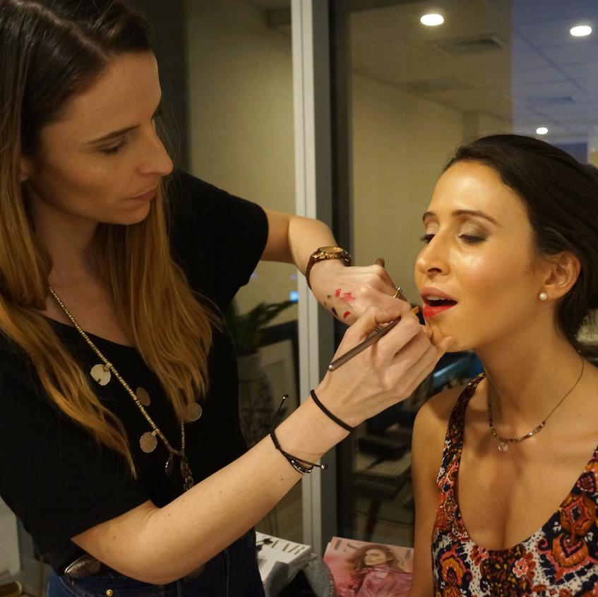 Make Up Session con Colette Brant