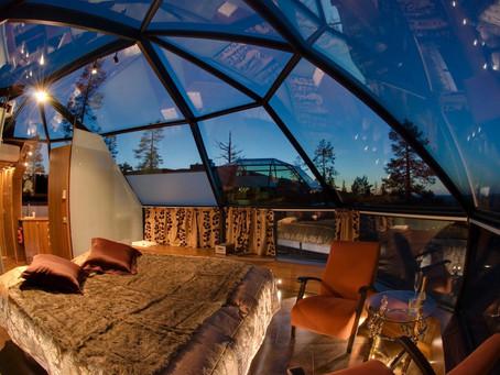 Inusuales y soñados hoteles donde ir en tu Luna de Miel
