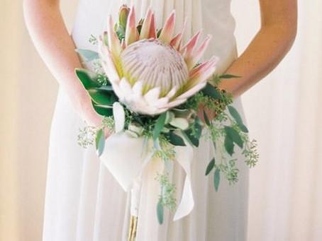 Ramos de novias con suculentas: ¿Sí o no?