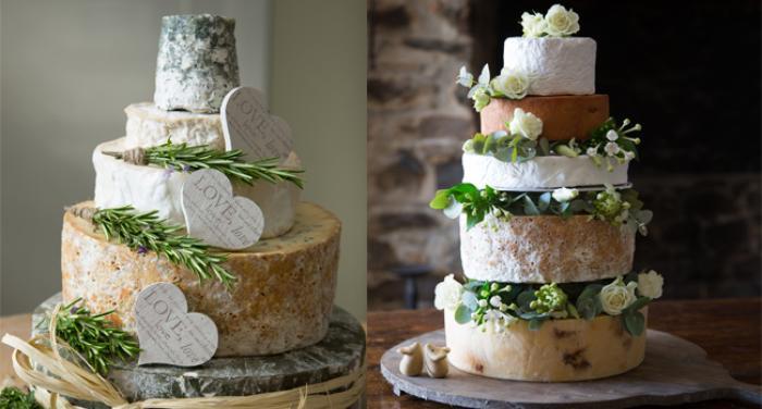 pastel queso boda