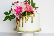Tendencia en los pasteles de boda el 2018