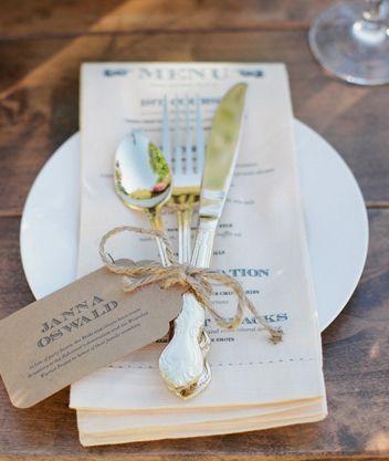 Ideas para la mesa de invitados