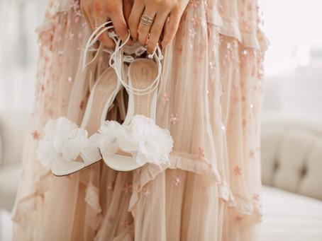 Los 10 mandamientos de los zapatos de novia