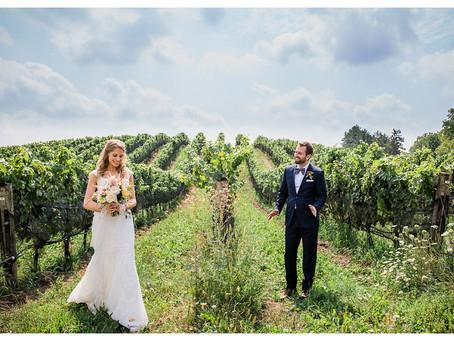 Por qué casarse en un viñedo es una tremenda opción