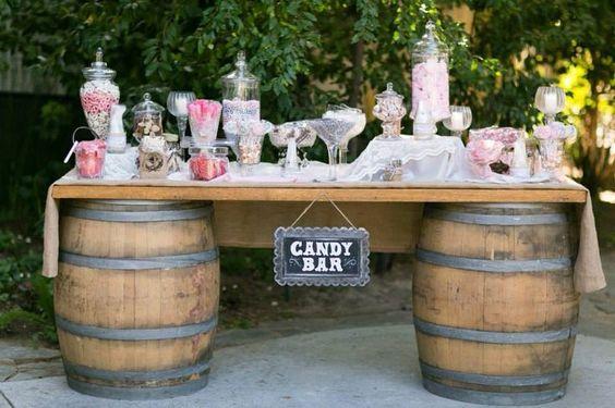 Candy Bar en tu matrimonio