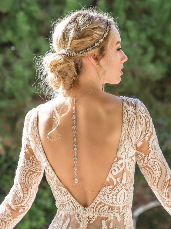 Espaldas para novias