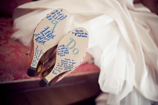 tradicion turca zapatos novia