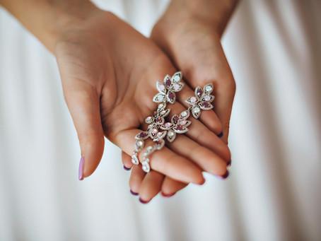 Qué aros elegir el día de tu matrimonio