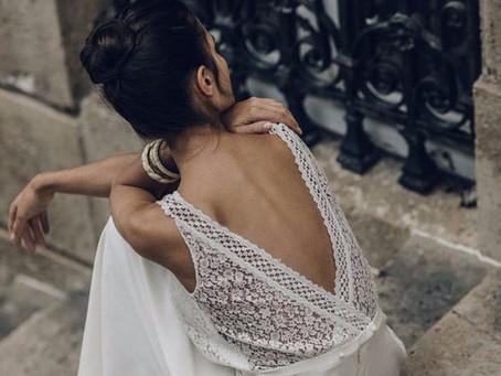 Vestido de novia: Espaldas que enamoran
