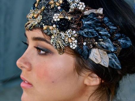 Tocados de novia que se roban las miradas