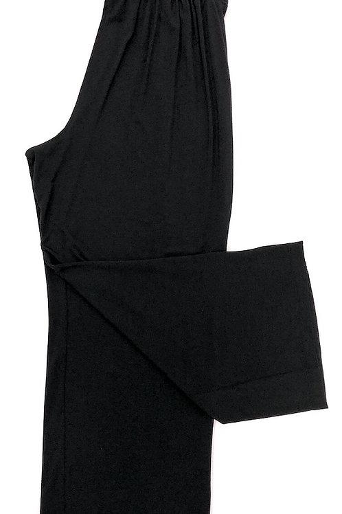 Samantha Chang Cropped Pant in Black