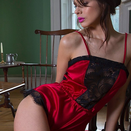 Nevaeh Obsession Silk Pleasure Romper