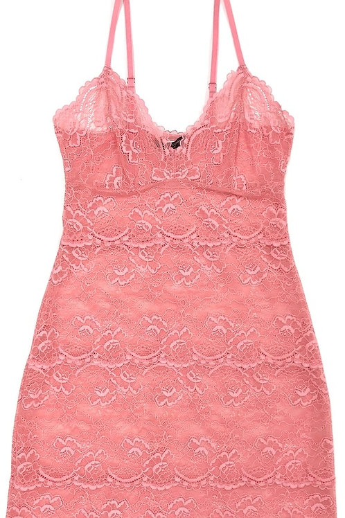 Samantha Chang All Lace Classic Full Slip in Rose Water
