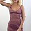 Thumbnail: Samantha Chang All Lace Roses Full Slip in Mulberry