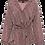 Thumbnail: Else Dixie Cotton Pajama Shirt with Tie Waist