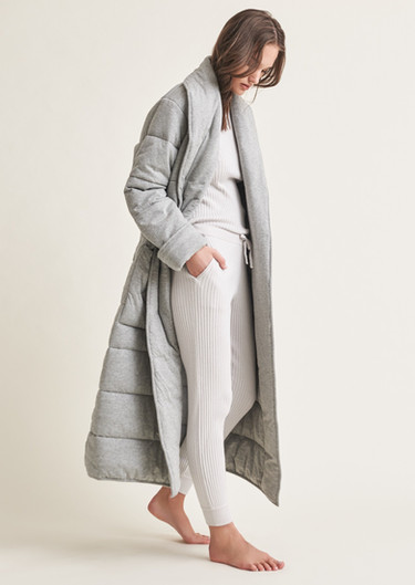 Skin Quilted Robe