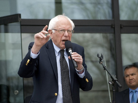Girl Gone Off: Sit down Bernie! Time for a reality check.