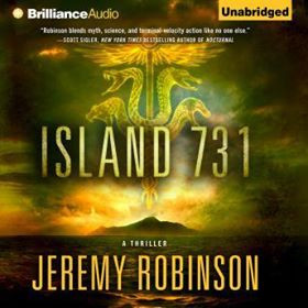 Girl Gone Reading: Island 731, Audible version