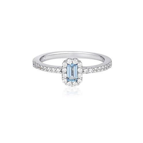 Georgini Paris Aquamarine Ring