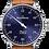 Thumbnail: MeisterSinger Pangea (Auto) Sunburst Blue