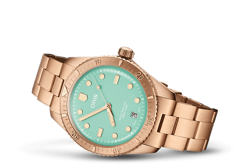 ORIS DIVERS SIXTY-FIVE Cotton Candy Green