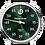 Thumbnail: MeisterSinger Salthora Meta (Jumping Hour) Sunburst Green