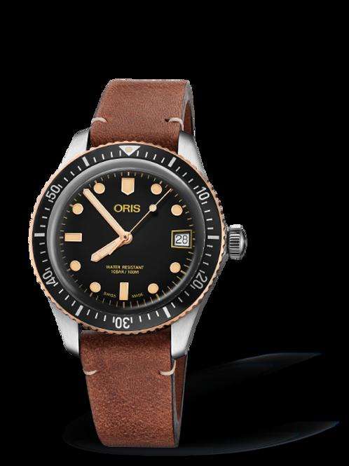 Oris Divers 65 (35mm steel/bronze)