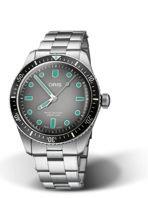 DIVERS SIXTY-FIVE with Grey gradient dial