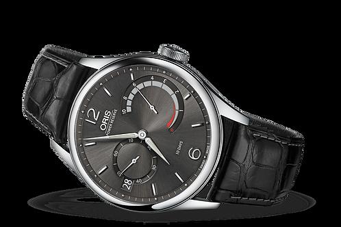 ORIS ARTELIER CALIBRE 111 dark grey dial grey leather