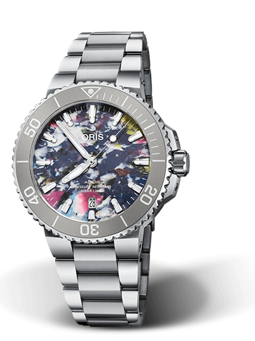 AQUIS DATE Upcycle 41mm