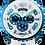 Thumbnail: Bolt-68 blue ice chrono Ref: BS45CHPBL.049-2.3