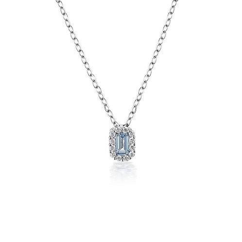 Georgini Aquamarine Paris Pendant