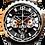 Thumbnail: Bolt-68 Black&Gold qtz sapphire chrono Ref:BS45CHPPKBA.050-1.3