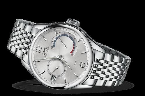 ORIS ARTELIER CALIBRE 111 silver dial bracelet