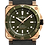 Thumbnail: BR 03-92 DIVER GREEN BRONZE Ref: BR0392-D-G-BR/SCA