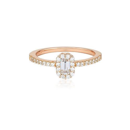Georgini Paris Rose Gold Ring