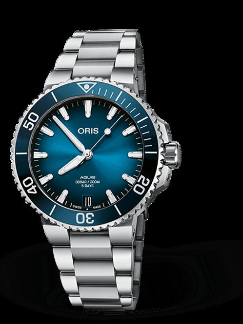 ORIS AQUIS DATE CALIBRE 400 blue