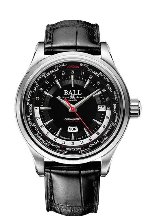 Ball Trainmaster Worldtime Ref: CM2020D-LL1CJ-BK