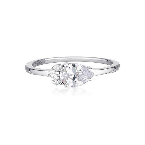 Georgini Silver Willow Ring