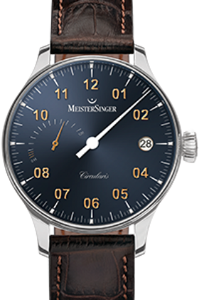 MeisterSinger Circularis Power Reserve Sunburst Steel Grey  CCP317G
