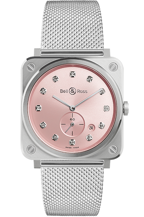 Bell&Ross Ref: BR S NOVAROSA DIAMONDS