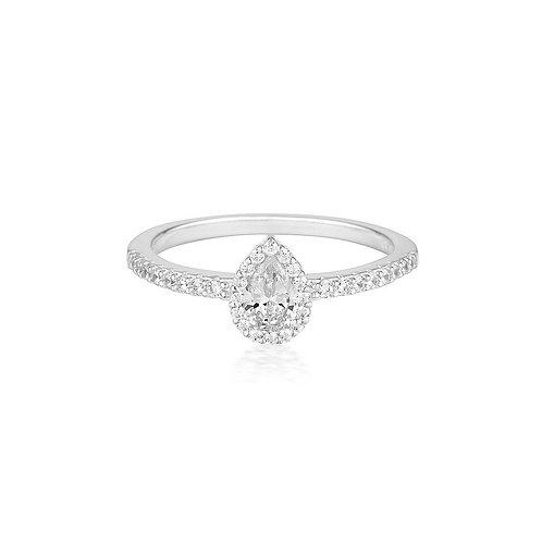 Georgini Monaco Silver Ring