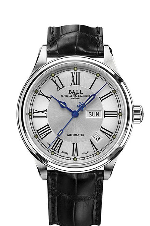 Ball Trainmaster Roman Ref: NM1058D-LF4J-WH