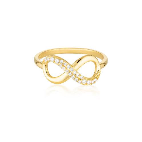Forever Infinity Ring - Gold