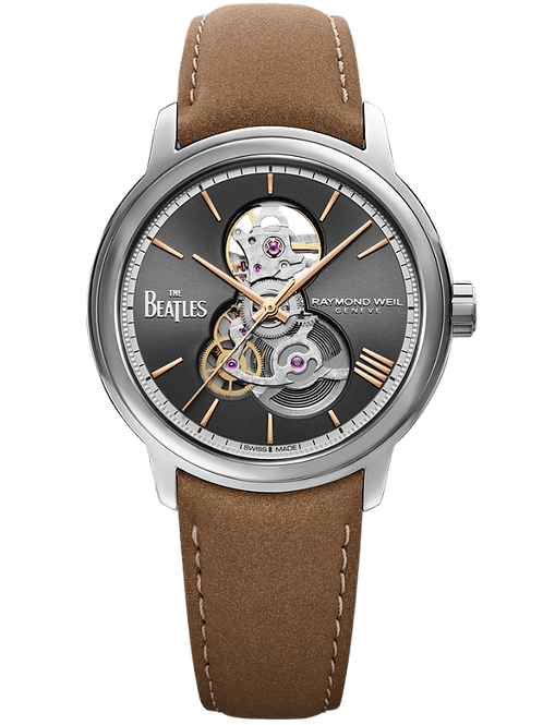 maestro Skeleton The Beatles 'Let It Be' Limited Edition Watch, 40mm