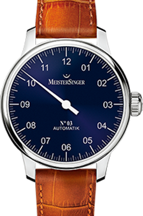 MeisterSinger No.03 AM908 Sunburst Blue
