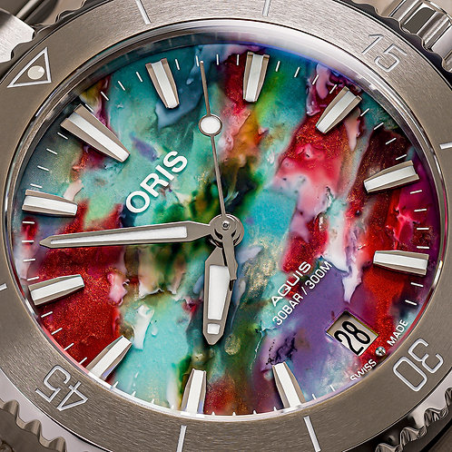 AQUIS DATE Upcycle 36mm