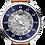 Thumbnail: MeisterSinger Salthora Meta Transparent SAM908TR Sunburst Blue / Transparent