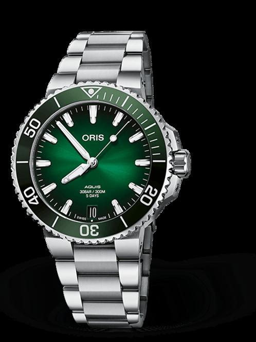 ORIS AQUIS DATE CALIBRE 400 green